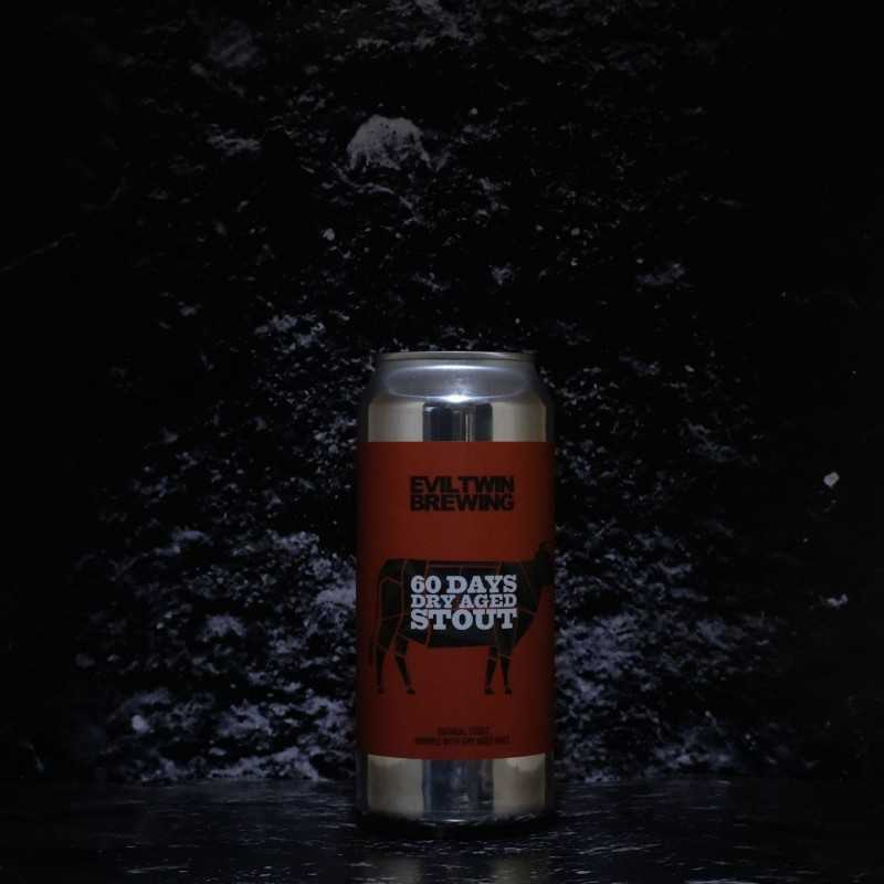 Evil Twin - 60 Days Dry Aged Stout - 6.00% - 47.3cl - Can