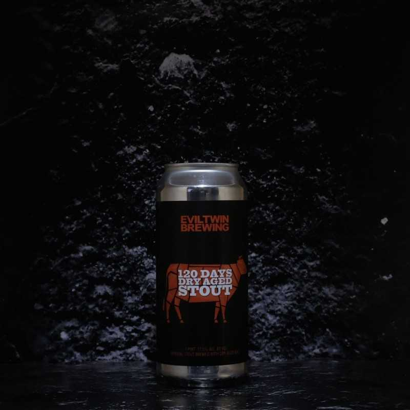 Evil Twin - 120 Days Dry Aged Stout - 17.50% - 47.3cl - Can