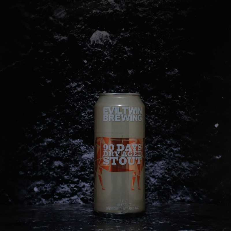 Evil Twin - 90 Days Dry Aged Stout - 9.00% - 47.3cl - Can
