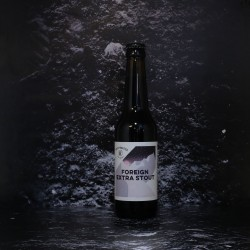 WhiteFrontier - Stockholm - Foreign Stout - 7.2% - 33cl - Bte