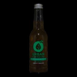 Urban Kombucha - Menthe poivrée bio - 0.00% - 33cl - Bte