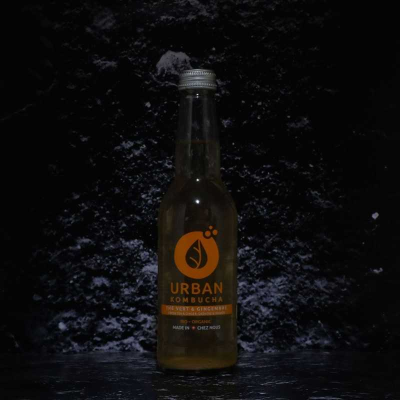 Urban Kombucha - Gimgembre bio - 0.00% - 33cl - Bte