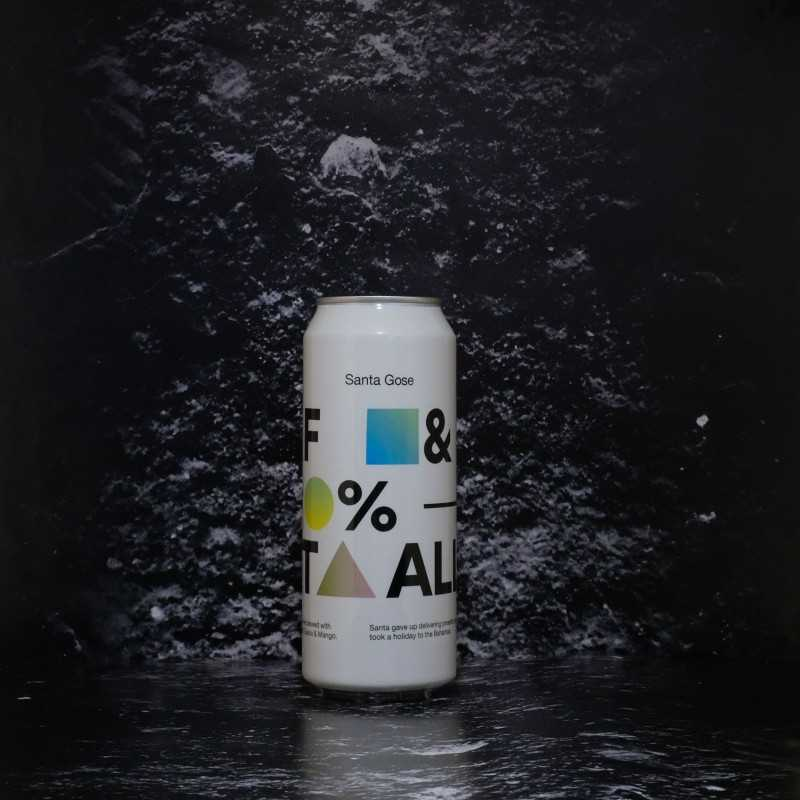 To Ol - Santa Gose F& %! It All - 4% - 50cl - Can