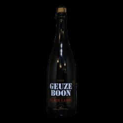 Boon - Oude Gueuze Black Label 4° édition - 7% - 75cl - Bte