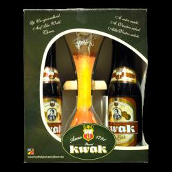 Bosteels - Coffret 4*33cl + 1 verre Kwak -  -  -