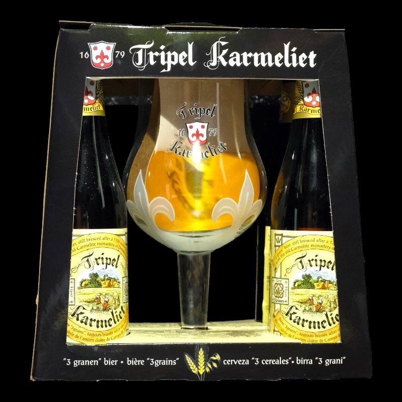 Bosteels - Coffret Tripel Karmeliet 4*33cl + 1 verre -  -  -