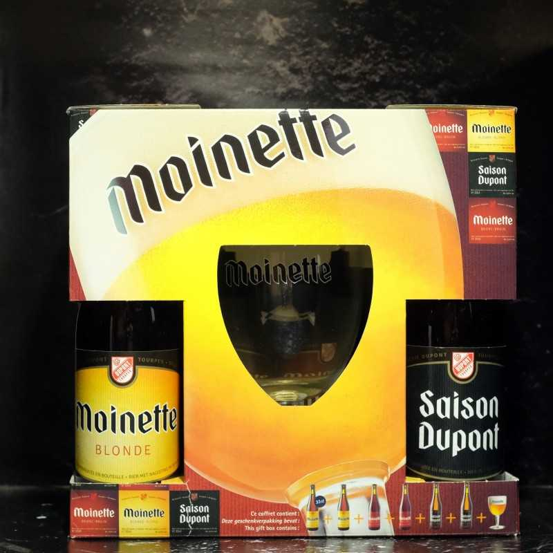 Dupont - Coffret moinette 6*33cl + 1 verre 33cl -  -  -