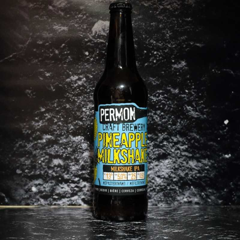 Permon - Pineapple Milkshake - 5% - 50cl - Bte