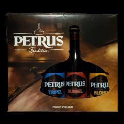 Petrus - Coffret 3*33cl + 1 verre -  -  -