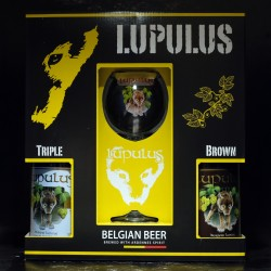 Lupulus - Coffret 2*75cl + 1 verre 25cl -  -  -