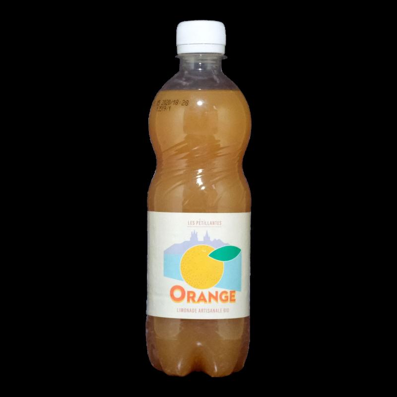 Les Pétillantes - Orange Bio - 0% - 50cl - Bte