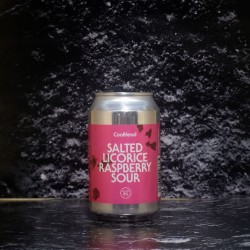 CoolHead - Salted Licorice Raspberry Sour - 5% - 33cl - Can