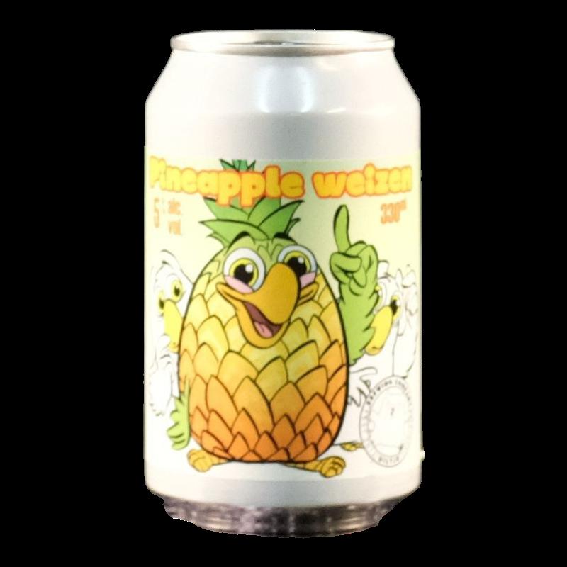 Het Uiltje - Pineapple Weizen - 5% - 33cl - Can