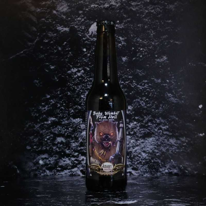 Amager - Baby Wombat From Hell - 6% - 33cl - Bte