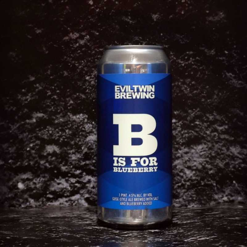 Evil Twin -  B is for Blueberry - 4.5% - 47.3cl - Can