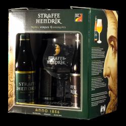 Straffe Hendrik - Coffret 4 bières + 1 verre