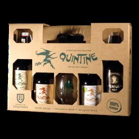 Quintine - Coffret 4 bières...