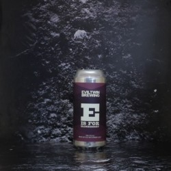 Evil Twin - E is for Elderberry - 4.5% - 47.3cl - Can