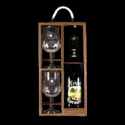 Bosteels - Coffret Karmeliet 1*75cl + 2 verres