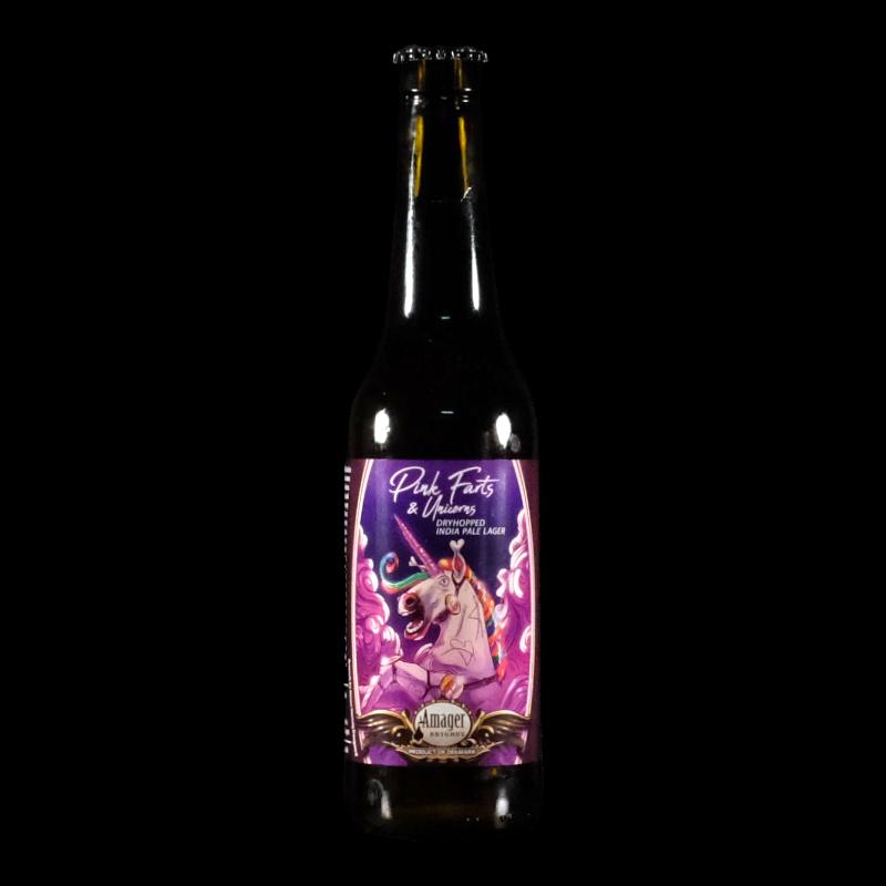 Amager - Pink Farts & Unicorns  - 4.6% - 33cl - bte
