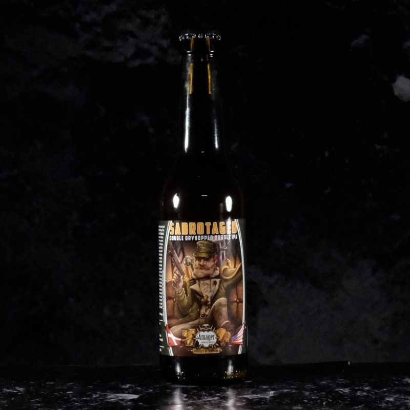 Amager - Marz  - Community Sabrotaged  - 8% - 33cl - bte