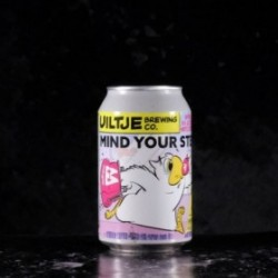 Het Uiltje - Mind your Step moyee Coffee - 14% - 33cl - can