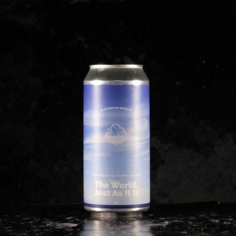 cloudwater - The World, just as it is  - 5% - 44cl - can