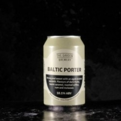 The Garden Brewery - Baltic Porter - 10.1% - 33cl - can