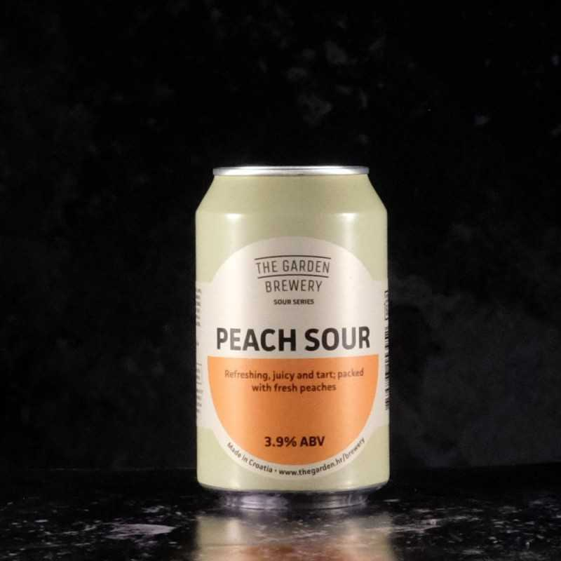 The Garden Brewery - Peach Sour - 3.9% - 33cl - can