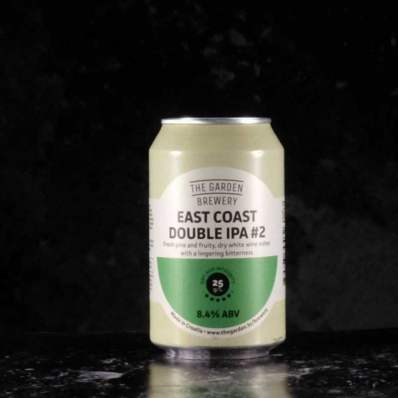 The Garden Brewery - East Coast DIPA - 8.4% - 33cl - can