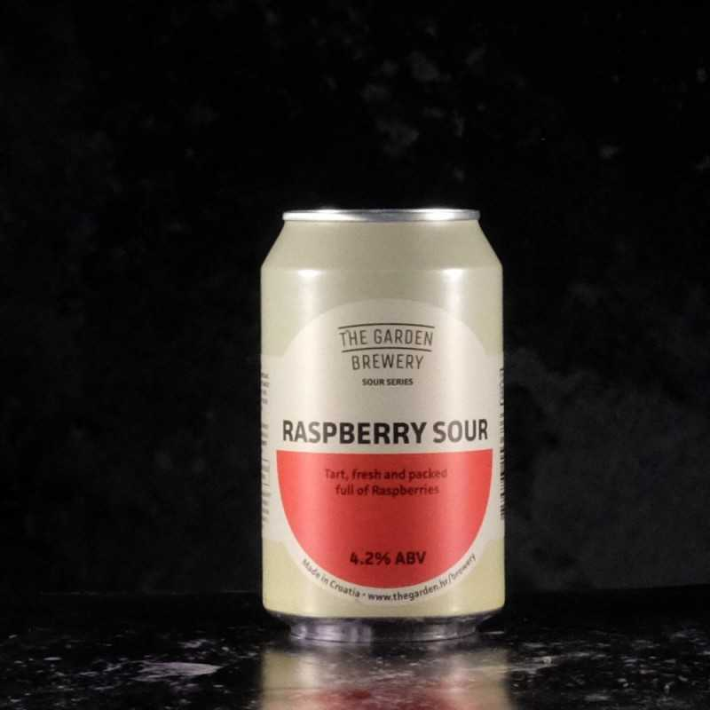The Garden Brewery - Raspbery Sour - 4.2% - 33cl - can