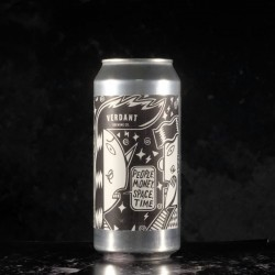 Verdant - People Money Space Time  - 8% - 44cl - can