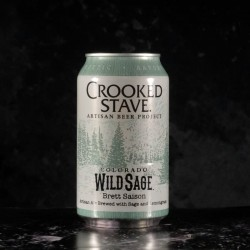 Crooked Stave - Colorado Wild Sage  - 7.2% - 35.5cl - can