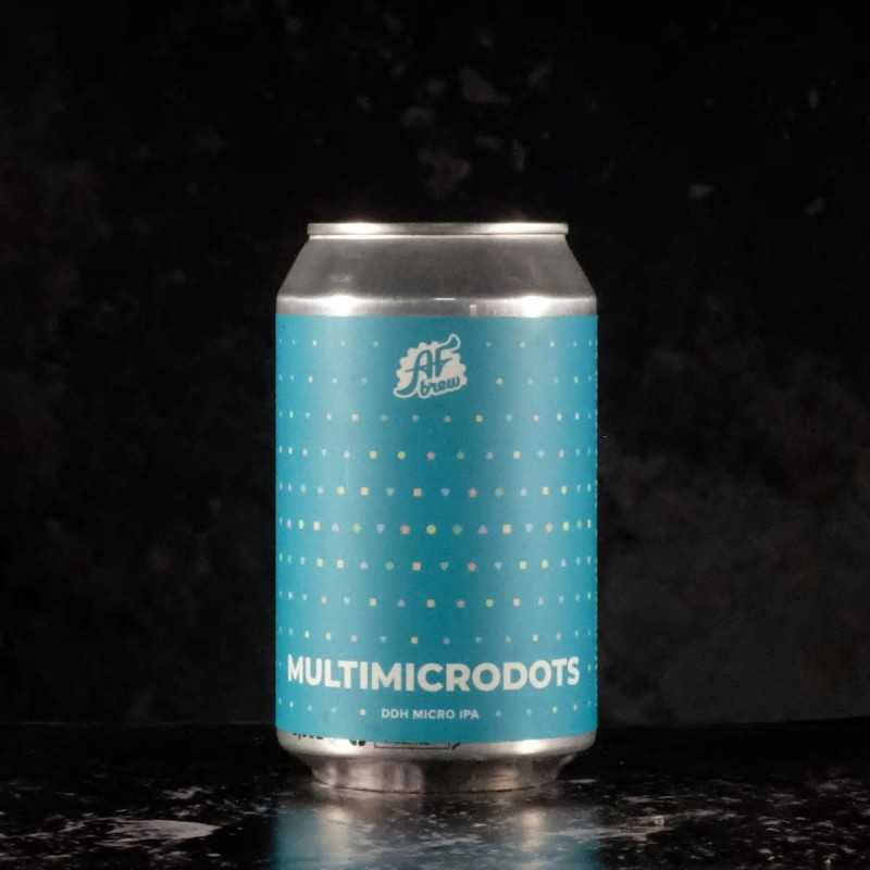 AF Brew - Multimicrodots  - 3% - 33cl - can
