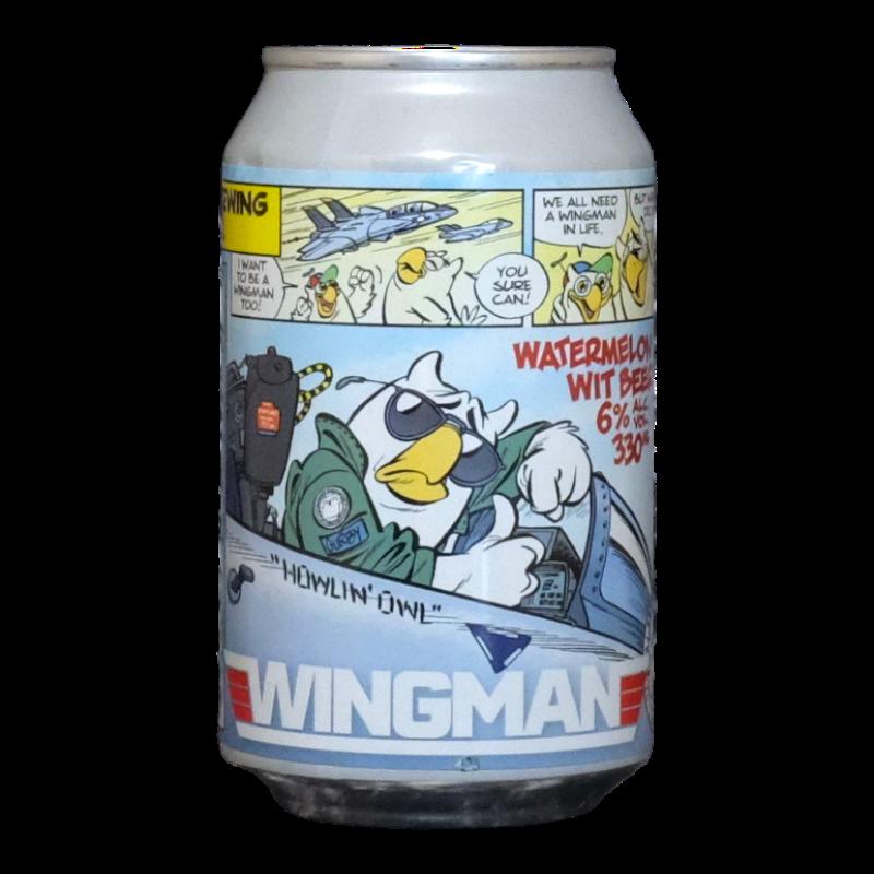 Het Uiltje - Wingman - 6% - 33cl - Can