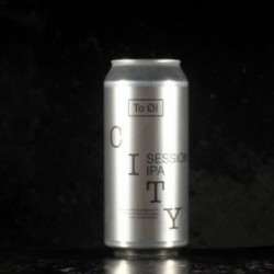 To Ol - City Session IPA - 4.5% - 44cl - Can