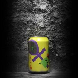 Omnipollo - the Veil - Tefnut w/ Pineapple and White Grapefruit - 11% - 33cl - can