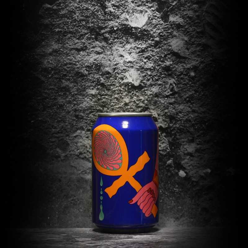 Omnipollo - the Veil - Tefnut Hurricane Smoothie - 11% - 33cl - can