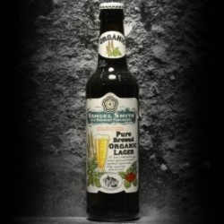 Samuel Smith's - Pure Brewed Organic Lager  - 5% - 35.5cl - Bte