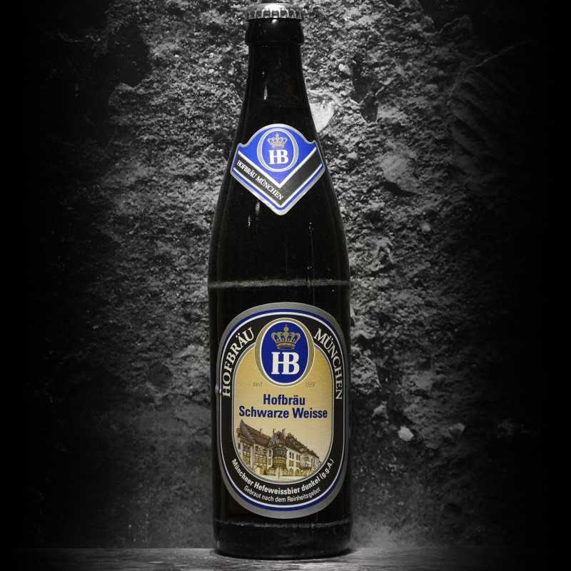 Hofbräu - Schwarze Weisse - 5.4% - 50cl - Bte