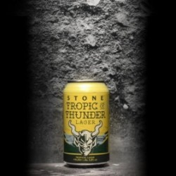 Stone - Tropic of Thunder Lager - 5.8% - 33cl - Can