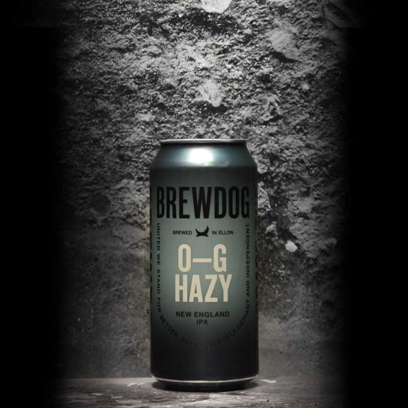 BrewDog - O-G Hazy - 7.2% - 44cl - Can