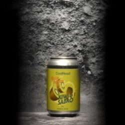 CoolHead - Gose Fresca – Kiwi and Sabro - 5% - 33cl - Can