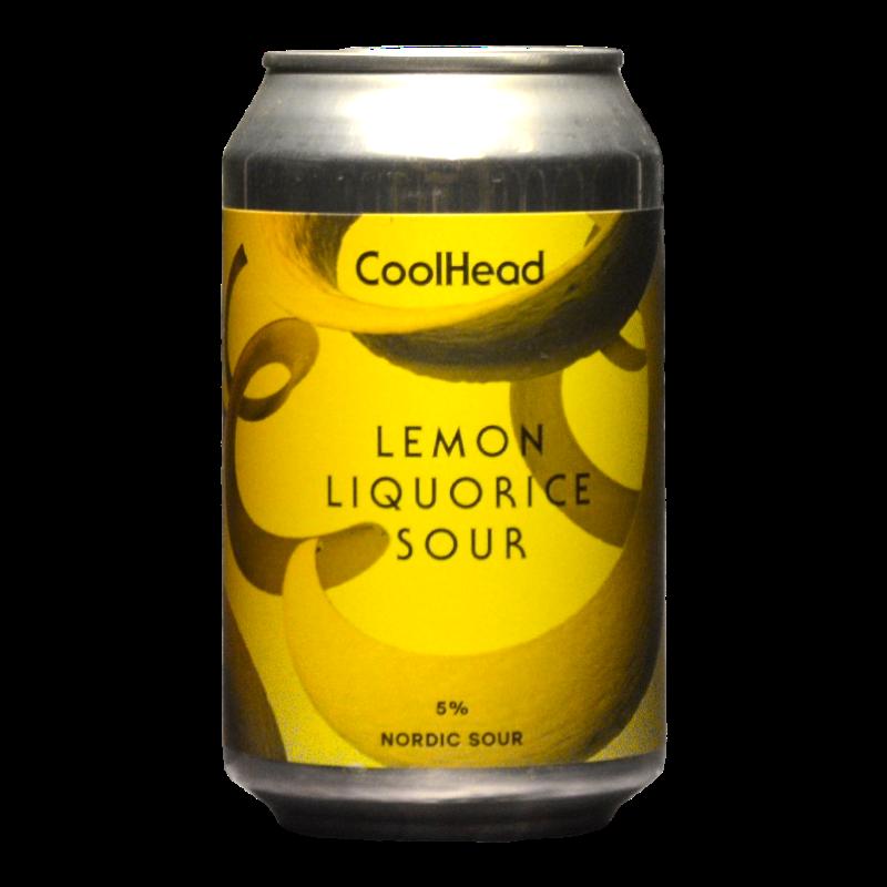 CoolHead - Lemon Licorice Sour - 5% - 33cl - Can