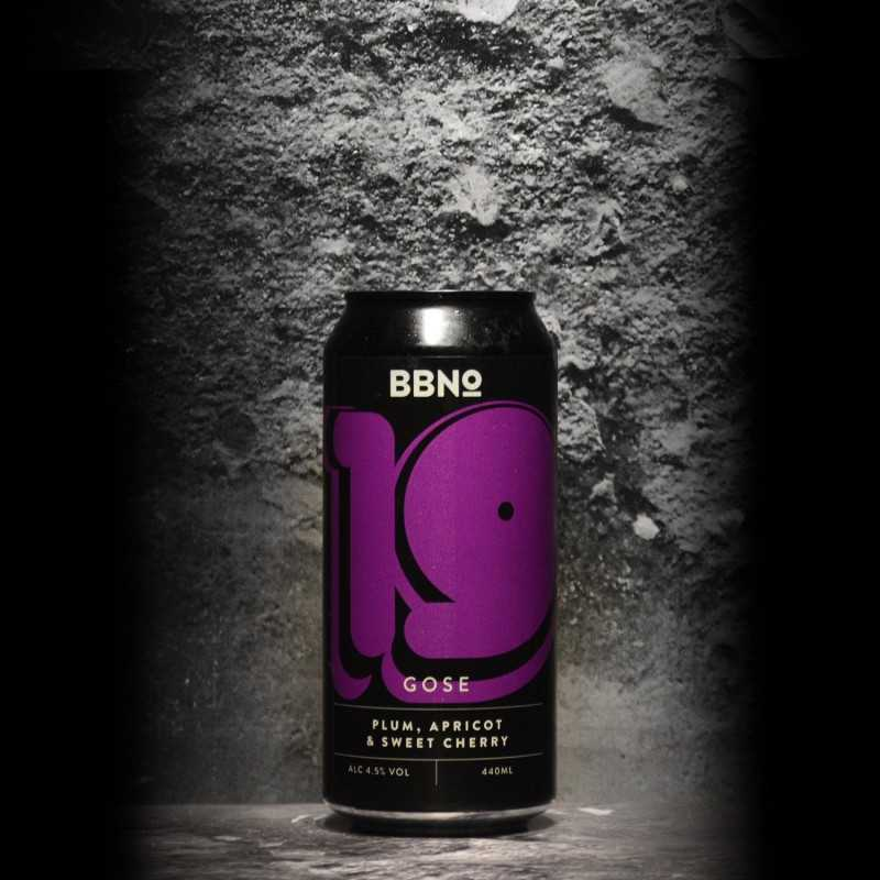 Brew By Numbers - 19 Gose Plum Apricot Sweet Cherry - 4.5% - 44cl - Can