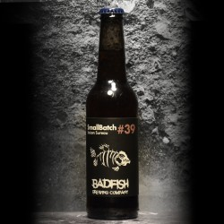 BadFish - SmallBatch 39 – Saison Rouge Sureau - 5.5% - 33cl - Bte