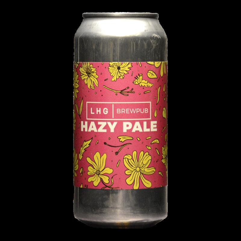 Left Handed Giant - Hazy Pale – LHG Brewpub - 4.5% - 44cl - Can