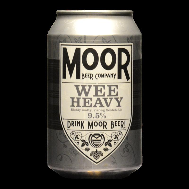 Moor - Wee Heavy  - 9.5% - 33cl - Can