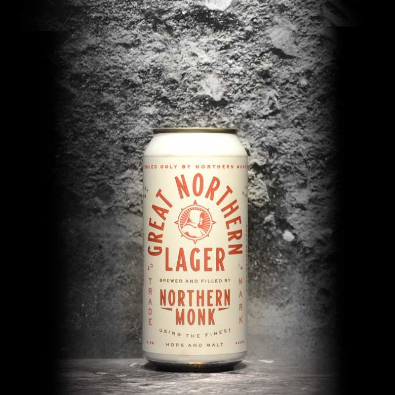 Northern Monk - Great Northern Lager - 4.3% - 44cl - Can