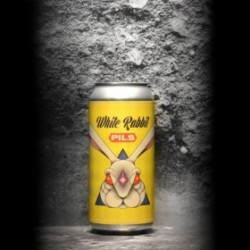 Dry & Bitter - White Rabbit - 5% - 44cl - Can